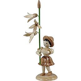 Blumenkind Forsythie, natur - 12 cm