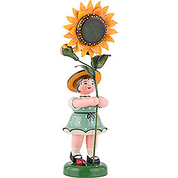 Blumenkind Mädchen Sonnenblume - 24 cm