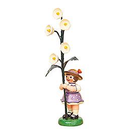 Blumenkind Mädchen mit Maiglöckchen - 11 cm