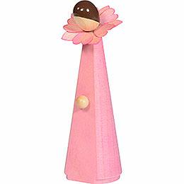 Blumenmädchen, pink - 11 cm