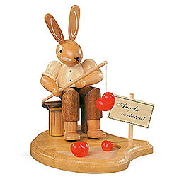 Bunny Fisherman - 11 cm / 4 inch