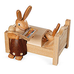 Bunny Mom Tells Good Night Stories - 9 cm / 3.5 inch