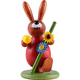 Bunny Wanderer Red - 9 cm / 3.5 inch
