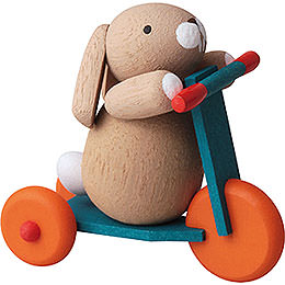Bunny on Scooter - 3,5 cm / 2inch / 1.4 inch