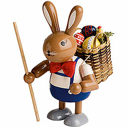 Bunny with Basket - 11 cm / 4 inch