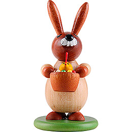 Bunny with Chick - 9 cm / 3.5 inch