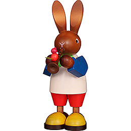 Bunny with Flute - 22,5 cm / 8.9 inch