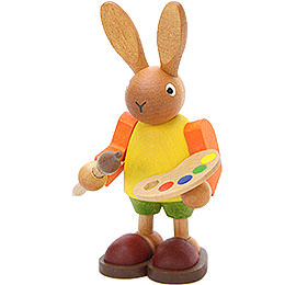 Bunny with Painter's Palette - 8,5 cm / 3.3 inch