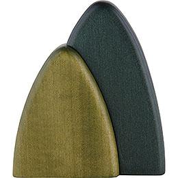 Bush for Wall Frames, Green - 10 cm / 3.9 inch