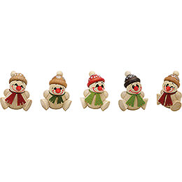 COOL MAN Junior Natural - 5 pcs. - 6 cm / 2.4 inch