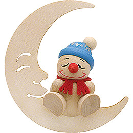 COOL MAN Sleeping in the Moon - 5 cm / 2 inch