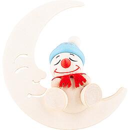 COOL MAN Sleeping in the Moon - 5 cm / 2 inch
