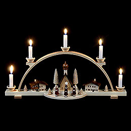 Candle Arch -  Alpine Village - 47 cm / 19 inch