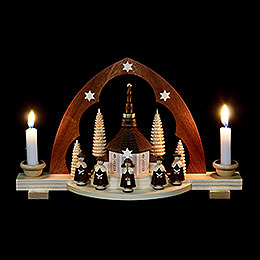 Candle Arch - Carolers - 30 cm / 12 inch