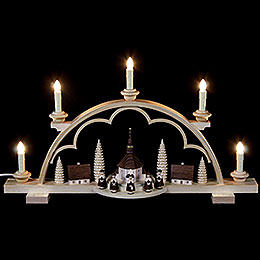 Candle Arch - Carolers Village - 57 cm / 22 inch - 120 V Electr. (US-Standard)