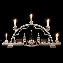 Candle Arch - Carolers Village - 57 cm / 22 inch - 120 V Electr. (US-Standard)