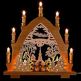 Candle Arch - Carolerssänger - 43x44 cm / 16.9x17.3 inch