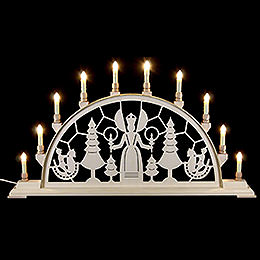 Candle Arch - Christmas Angel - 78x42 cm / 31x17 inch