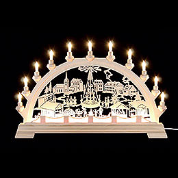 Candle Arch - Christmas Fair - 65x40 cm / 26x16 inch