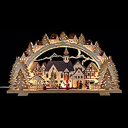 Candle Arch - Christmas Time - 72x41x7 cm / 28.3x16.1x2.8 inch