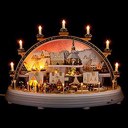 Candle Arch - Cynsifen (Tin Seiffen) - 75x51 cm / 29.5x20.1 inch