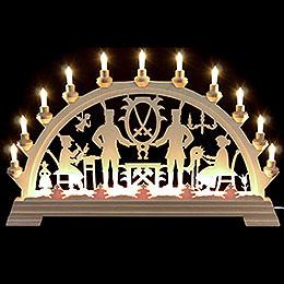 Candle Arch - Erzgebirge - 64x40 cm/26x16 inch