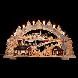 Candle Arch - Fichtelberg Idyll - 72x43x15 cm / 28.3x17x5.9 inch