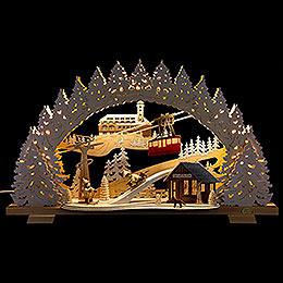 Candle Arch - Fichtelberg Snowy - 53x31 cm / 20.9x12.2 inch
