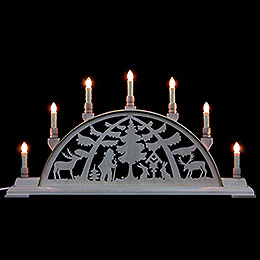 Candle Arch - Forest Scene - 63x32 cm / 25x13 inch