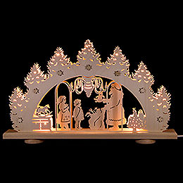 Candle Arch - Gift Giving - LED - 52x32x6 cm / 20.5x12.6x2.4 inch