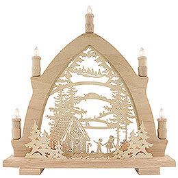 Candle Arch - Hansel and Gretel - 42x43 cm / 16.5x16.9 inch