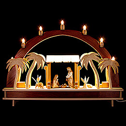 Candle Arch - Holy Family - 70x51 cm / 27.6x20.1 inch