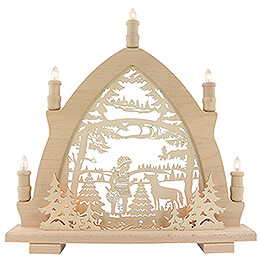 Candle Arch - Little Red Riding Hood - 42x43 cm / 16.5x16.9 inch