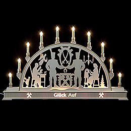 Candle Arch - Miners Glück Auf! - 78x45 cm / 31x18 inch