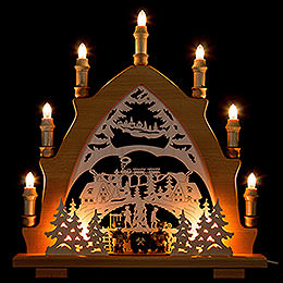 Candle Arch - Miners Ore Mountains - 43x45 cm / 16.9x17.7 inch