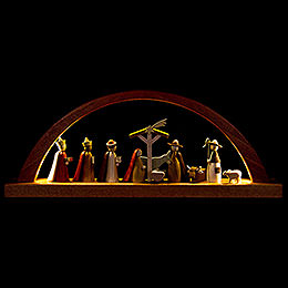 Candle Arch - Nativity - 40x16 cm / 15.7x6.3 inch