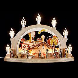 Candle Arch - Nativity - 58x39 cm / 23x15 inch