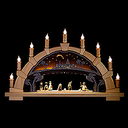 Candle Arch - Nativity - 66x40 cm / 26x15.7 inch