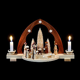 Candle Arch - Nativity Scene - 30 cm / 12 inch
