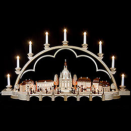 Candle Arch - Old Dresden- 230 Volt - 103 cm / 41 inch