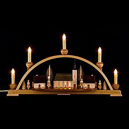 Candle Arch - Schneeberger Church - 52x30x14 cm / 20.4x11.8x5.5 inch