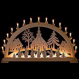 Candle Arch - Seiffen Church - 100x54 cm / 39.4x21.3 inch