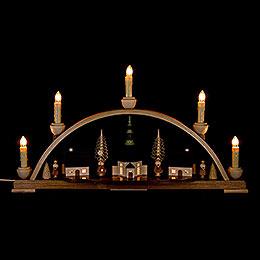 Candle Arch - Seiffen Church  - 51x29 cm / 20.1x11.4 inch