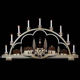 Candle Arch - Village Seiffen - 102 cm / 40 inch