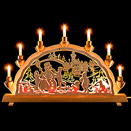 Candle Arch - Winter - 50x32 cm / 19.7x12.6 inch