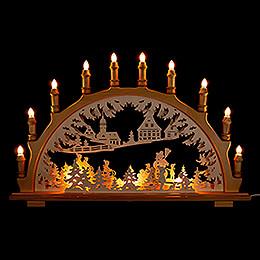Candle Arch - Winter Landscape   - 66x44 cm / 26x17.3 inch