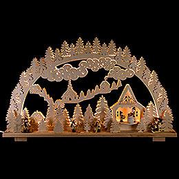 Candle Arch - Winter Landscape - 70x45 cm / 28x18 inch