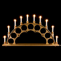 Candle Arch without Angels - Natural - 70x40 cm / 27.5x15.7 inch