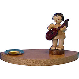 Candle Holder - Angel with Guitar - 7 cm / 2.8 inch