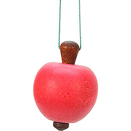 Christbaumschmuck Apfel - 3,0x4,7 cm